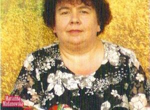Marianna Madanowska - zdjęcie z publikacji o artystach z Polski