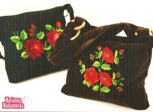 Pięknie haftowane ręcznie torebki wykonane przez Mariannę Madanowską