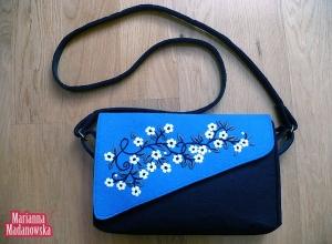Wyróżnij się z tłumu - modna haftowana ręcznie torebka damska